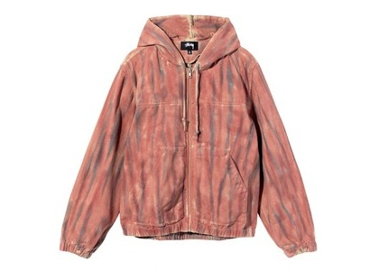 Stussy Dyed Work Jacket Pink (SS21)の写真