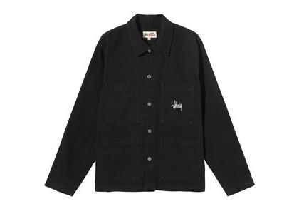 Stussy Canvas Chore Jacket Black (SS21)の写真