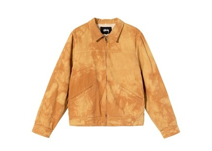 Stussy Shearling Dyed Trucker Jacket Natural (SS21)の写真