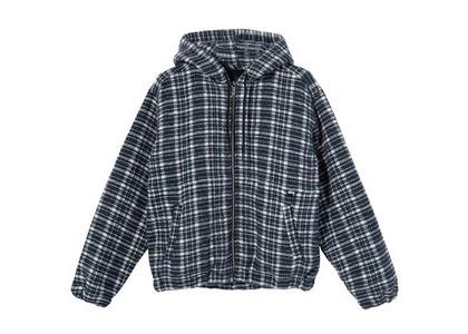 Stussy Flannel Work Jacket Check (SS21)の写真