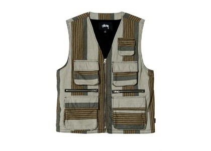 Stussy Stripe Cargo Vest Stripe (SS21)の写真