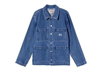 Stussy Denim Chore Jacket Denim (SS21)の写真