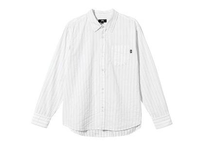 Stussy Pinstripe Stitched LS Shirt Stripe (SS21)の写真