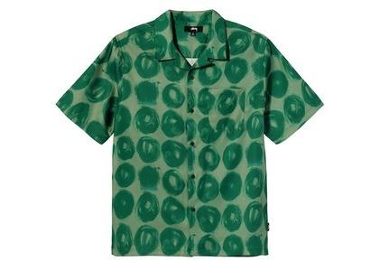 Stussy Hand Drawn Dot Shirt Green (SS21)の写真