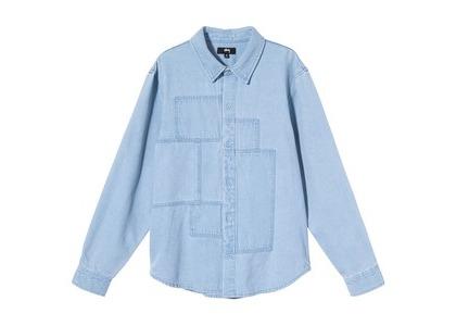 Stussy Webster Shirt Denim (SS21)の写真