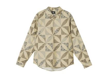 Stussy Quilt Pattern Shirt Multi (SS21)の写真