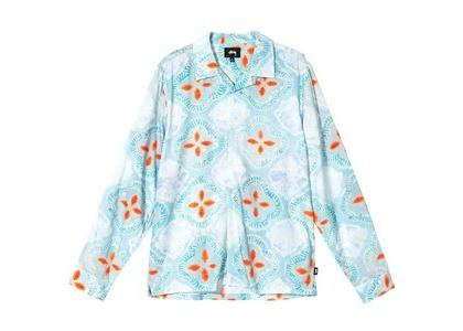 Stussy Sonoma Dye Pattern Shirt Blue (SS21)の写真