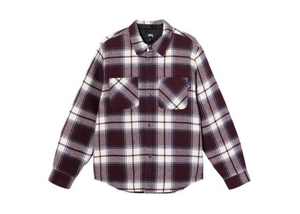 Stussy Max Plaid Quilted Shirt Check (SS21)の写真
