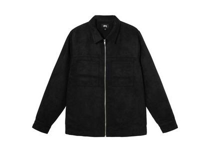 Stussy Micro Suede Work Shirt Black (SS21)の写真
