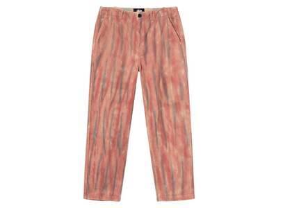 Stussy Dyed Uniform Pant Pink (SS21)の写真