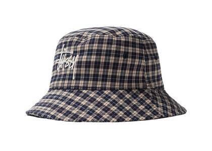 Stussy Basic Plaid Bucket Hat Check (SS21)の写真
