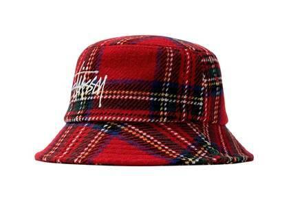 Stussy Big Logo Plaid Bucket Hat Check (SS21)の写真