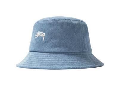 Stussy Contrast Stitch Bucket Hat Denim (SS21)の写真