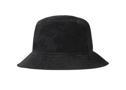 Stussy Jacquard Hawaiian Bucket Hat Black (SS21)の写真