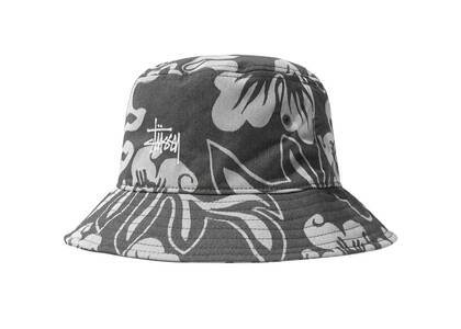 Stussy Nylon Hawaiian Bucket Hat Gray (SS21)の写真