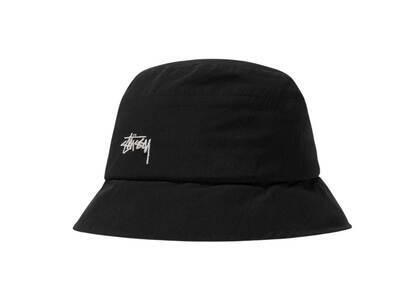 Stussy Outdoor Panel Bucket Hat Black (SS21)の写真