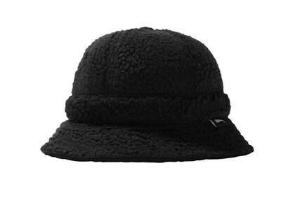 Stussy Sherpa Fleece Bell Bucket Hat Black (SS21)の写真