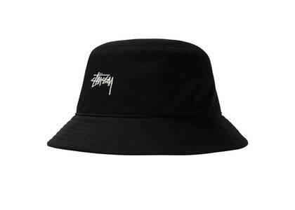 Stussy Stock Bucket Hat Black (SS21)の写真
