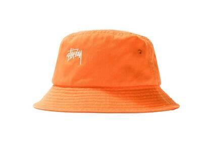 Stussy Stock Bucket Hat Orange (SS21)の写真