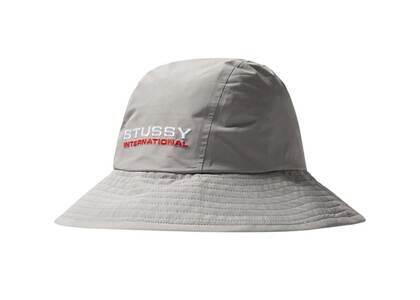 Stussy Stüssy Gore Texr Rainroom Shell Bucket Hat Gray (SS21)の写真