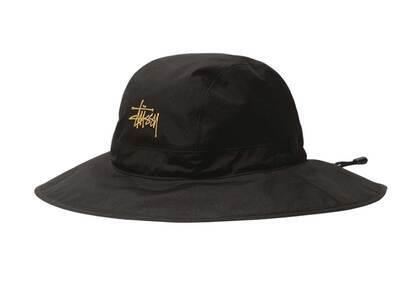 Stussy Stüssy Gore Texr Storm Shell Solid Hat Black (SS21)の写真