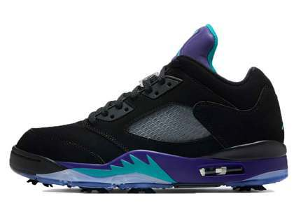 Nike Air Jordan 5 Low Golf Black Grapeの写真