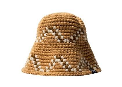 Stussy Giza Knit Bucket Hat Brown (SS21)の写真