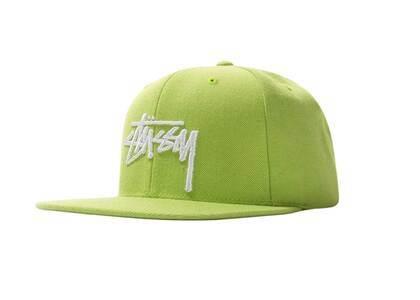 Stussy Stock Cap Lime (SS21)の写真