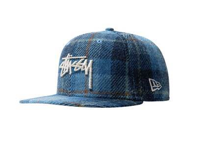 Stussy Stock Harris Tweed New Era Cap Check (SS21)の写真