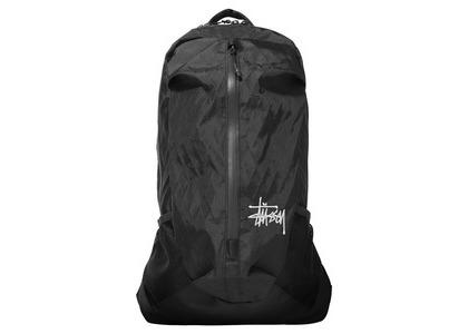Stussy 25L Backpack Black (SS21)の写真