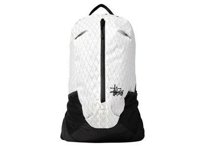 Stussy 25L Backpack White (SS21)の写真