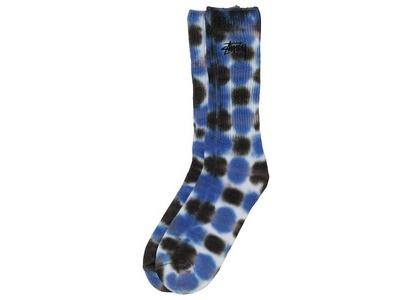 Stussy Batik Dye Crew Socks Blue (SS21)の写真