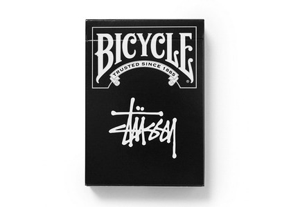 Stussy Bicycle Playing Cards Black (SS21)の写真