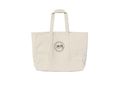 Stussy Canvas Tote White (SS21)の写真