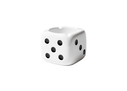Stussy Ceramic Dice Ashtray White (SS21)の写真