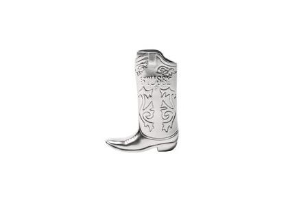 Stussy Metal Boot Lighter Case Silver (SS21)の写真