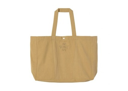 Stussy NVI Oversized Canvas Tote Brown (SS21)の写真