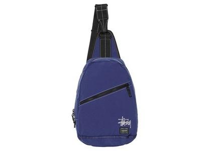 Stussy Porter Sling Bag Blue (SS21)の写真
