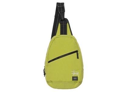Stussy Porter Sling Bag Lime (SS21)の写真