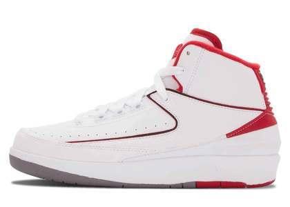 Nike Air Jordan 2 Retro White Red 2014 (GS)の写真