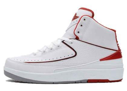 Nike Air Jordan 2 Retro White Red (2014)の写真