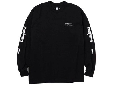 Neighborhood × Undefeated Someday L/S Tee Bkack