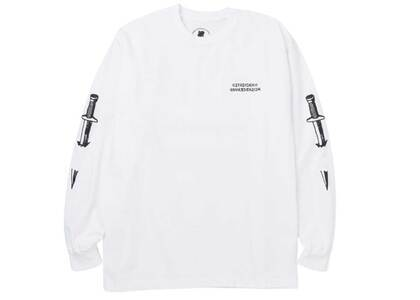 Neighborhood × Undefeated Someday L/S Tee Whiteの写真