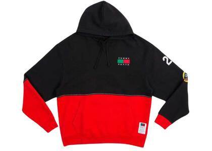 Patta × Tommy Hooded Sweater Black/high Risk Red (SS21)の写真