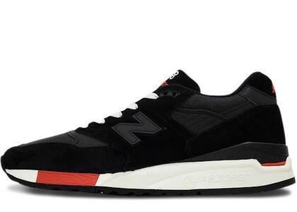 New Balance 998 Kithstrike Black Redの写真