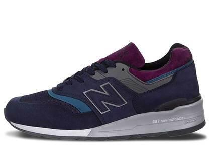New Balance 997 Northern Lights Navy Greyの写真