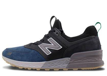 New Balance 574 Sport Mita Black Blue Greyの写真