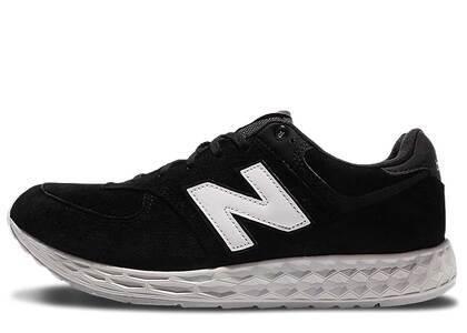 New Balance 574 Fresh Foam Suede Black Whiteの写真