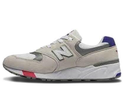 New Balance 999 White Blue Pinkの写真