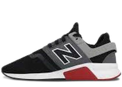 New Balance 247 Black Grey Redの写真